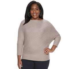 Plus Size Jennifer Lopez Cozy Dolman Top