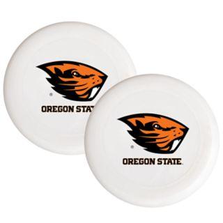 Oregon State Beavers 2-Pack Flying Disc Set