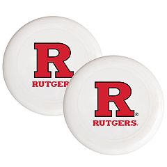 Rutgers Scarlet Knights 2-Pack Flying Disc Set