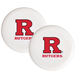Rutgers Scarlet Knights 2-Pack Flying Disc Set