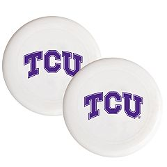 TCU Horned Frogs 2-Pack Flying Disc Set