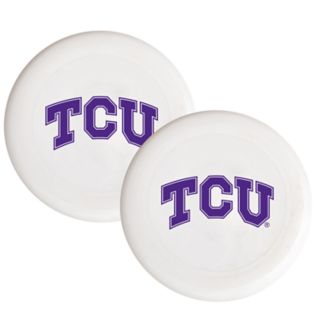 TCU Horned Frogs 2-Pack Flying Disc Set
