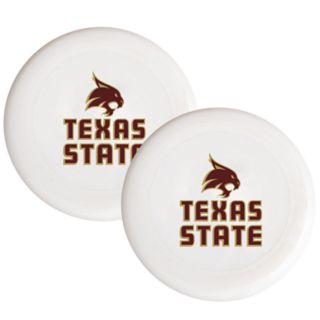 Texas State Bobcats 2-Pack Flying Disc Set