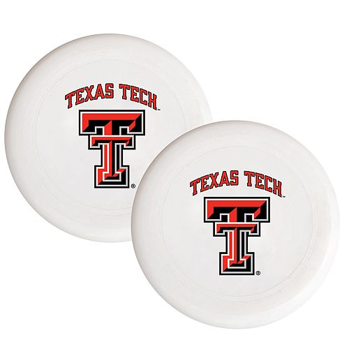 Texas Tech Red Raiders 2-Pack Flying Disc Set