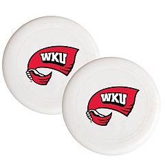 Western Kentucky Hilltoppers 2-Pack Flying Disc Set
