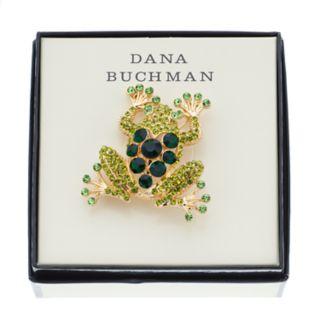 Dana Buchman Green Frog Pin