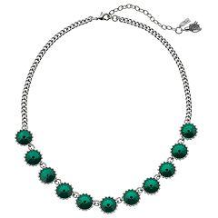 Simply Vera Vera Wang Green Stone Necklace