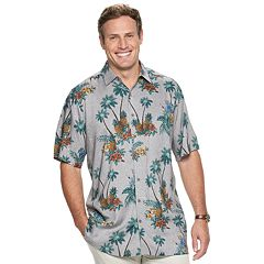 Big & Tall Batik Bay Tropical Button-Down Shirt