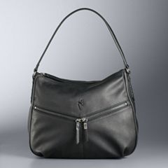 Simply Vera Vera Wang Zipper Pocket Hobo Bag
