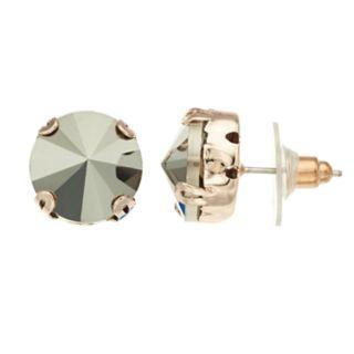 Simply Vera Vera Wang Gray Stone Stud Earrings