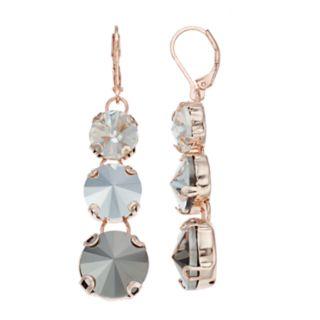 Simply Vera Vera Wang Simulated Crystal Linear Drop Earrings