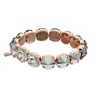 Simply Vera Vera Wang Multi-Color Stone Stretch Bracelet