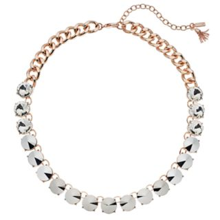 Simply Vera Vera Wang  Simulated Crystal Collar Necklace