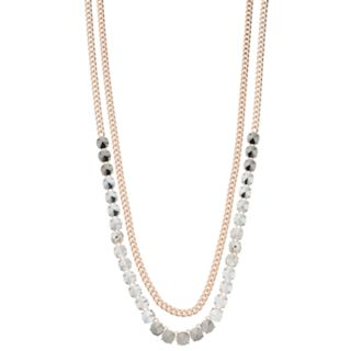 Simply Vera Vera Wang Multi-Color Stone Multi-Strand Necklace