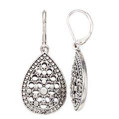 Simply Vera Vera Wang Filigree Drop Earrings