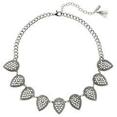 Simply Vera Vera Wang Filigree Leaf Necklace
