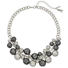Simply Vera Vera Wang Filigree Layered Bell Necklace