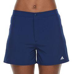 Women's adidas Midrise Woven Swim Shorts