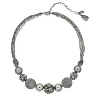 Simply Vera Vera Wang Fireball & Bead Multi Strand Necklace