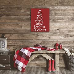 Artissimo Designs Words Of Christmas Wall Decor