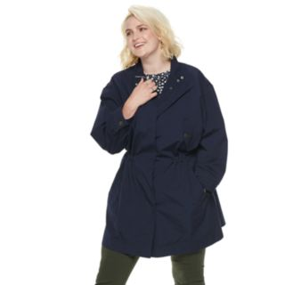 Plus Size POPSUGAR Drop-Shoulder Anorak Jacket