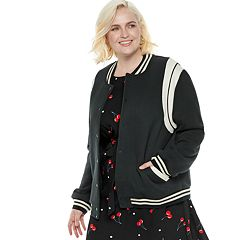 Plus Size POPSUGAR Athletic Bomber Jacket