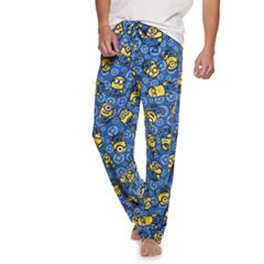 Men's Despicable Me Minions Sueded Fleece Lounge Pants