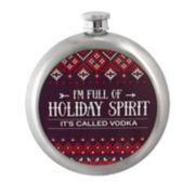 Wembley Holiday Spirit 10-Ounce Flask