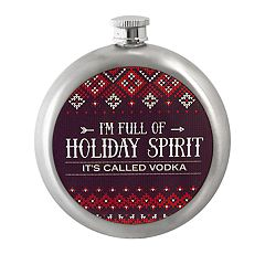 Wembley Holiday Spirit 10-Ounce Flask
