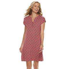 Women's Dana Buchman Print Shift Dress
