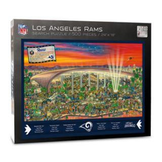 Los Angeles Rams Find Joe Journeyman Search Puzzle
