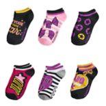 Girls 7-16 JoJo Siwa 6-pack No-Show Socks
