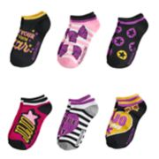 Girls 7-16 JoJo Siwa 6-pack No-Show Socks