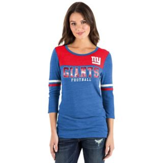 Women's New Era New York Giants Varsity Tee