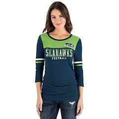 Women's New Era Seattle Seahawks Varsity Tee