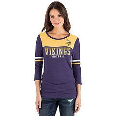 Women's New Era Minnesota Vikings Varsity Tee