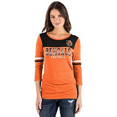 Women's New Era Cincinnati Bengals Varsity Tee