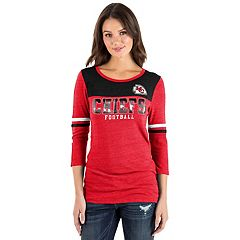 Women's New Era Kansas City Chiefs Varsity Tee