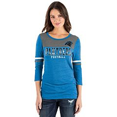 Women's New Era Carolina Panthers Varsity Tee