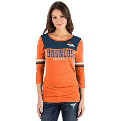 Women's New Era Denver Broncos Varsity Tee