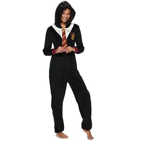 bfb491a9f Juniors  Harry Potter Gryffindor One-Piece Pajamas