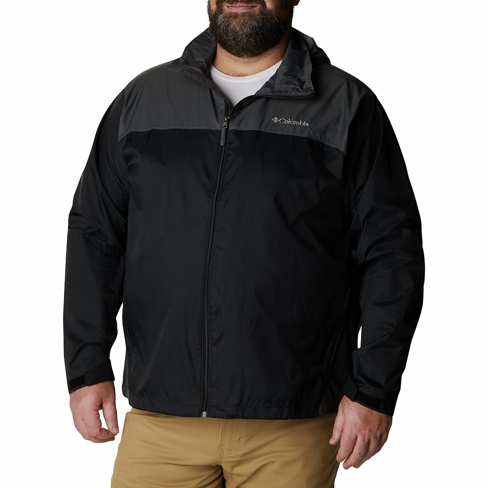 Big & Tall Columbia Glennaker Colorblock Packable Rain Jacket