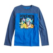 Boys 8-20 Pokemon Colorblock Tee