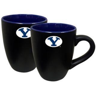 BYU Cougars Two-Tone Coffee Mug Set