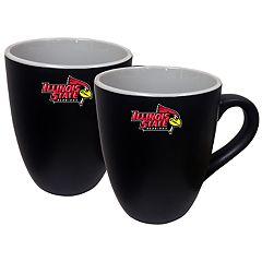 Illinois State Redbirds Two-Tone Coffee Mug Set