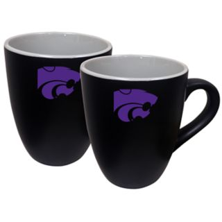 Kansas State Wildcats Two-Tone Coffee Mug Set
