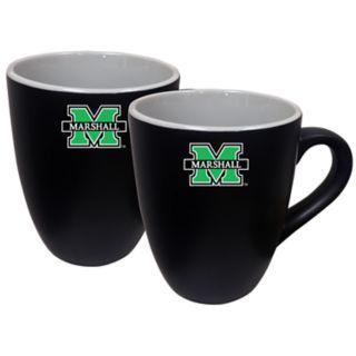 Marshall Thundering Herd Two-Tone Coffee Mug Set