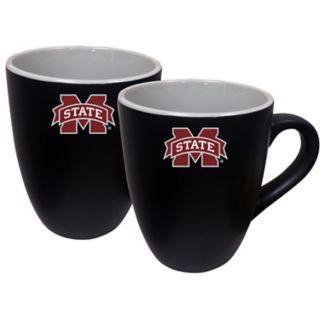 Mississippi State Bulldogs Two-Tone Coffee Mug Set
