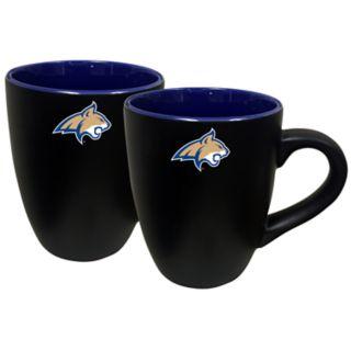 Montana State Bobcats Two-Tone Coffee Mug Set