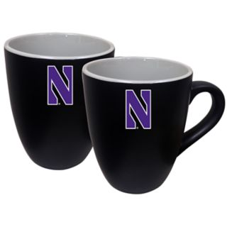Northwestern Wildcats Two-Tone Coffee Mug Set